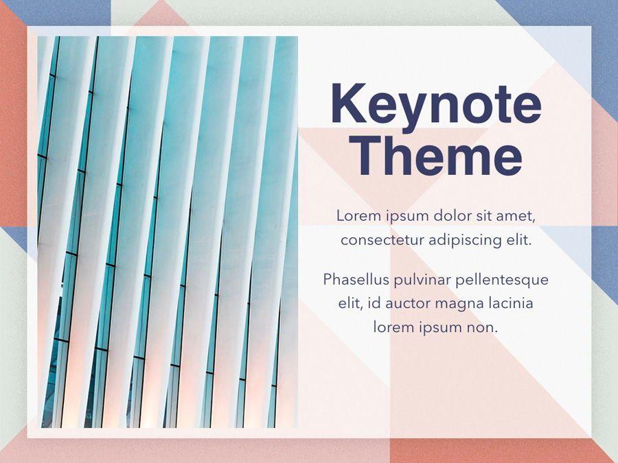 Color Patch Keynote Template, Slide 18, 05283, Presentation Templates — PoweredTemplate.com