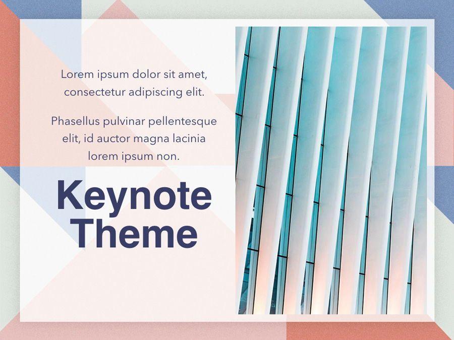 Color Patch Keynote Template, Slide 19, 05283, Presentation Templates — PoweredTemplate.com