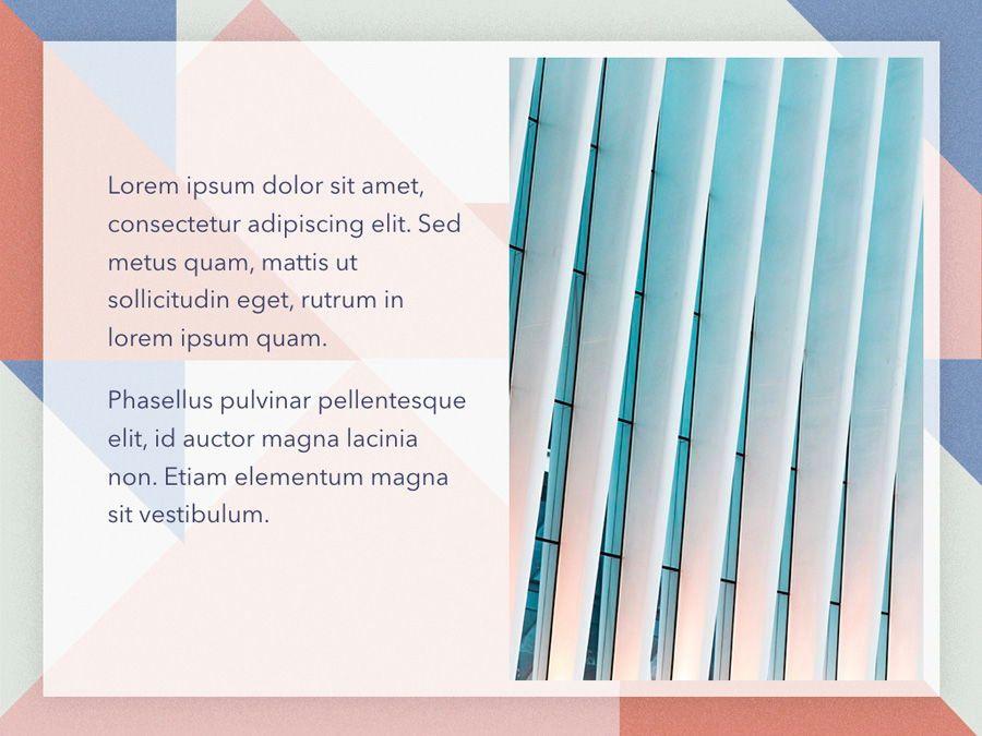Color Patch Keynote Template, Slide 21, 05283, Presentation Templates — PoweredTemplate.com