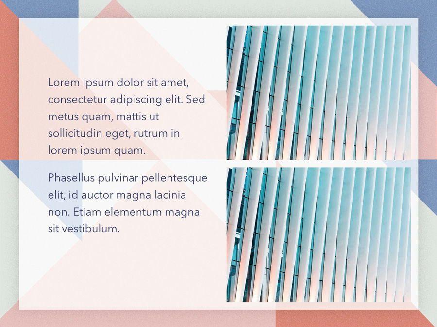 Color Patch Keynote Template, Slide 23, 05283, Presentation Templates — PoweredTemplate.com