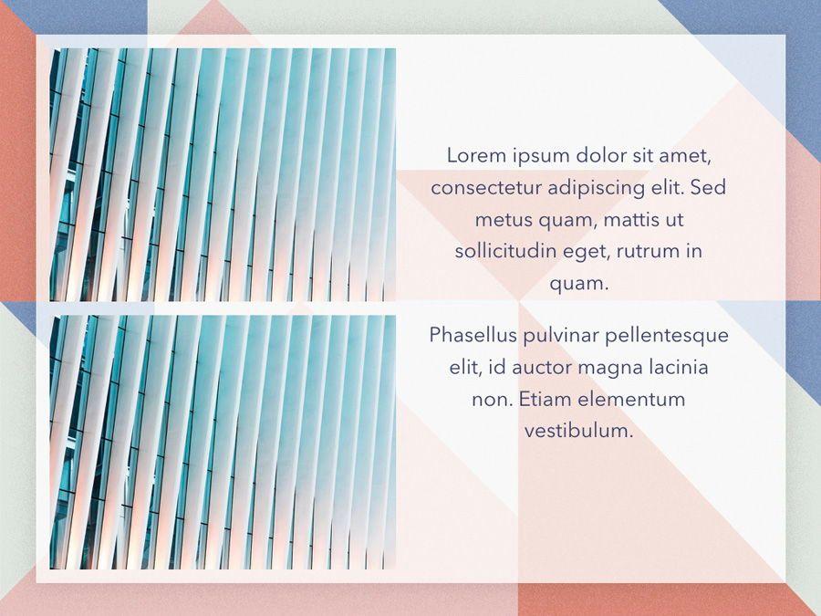 Color Patch Keynote Template, Slide 24, 05283, Presentation Templates — PoweredTemplate.com