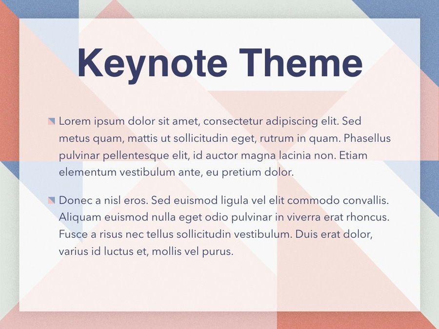 Color Patch Keynote Template, Slide 3, 05283, Presentation Templates — PoweredTemplate.com