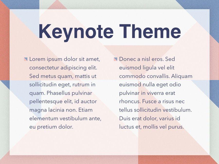 Color Patch Keynote Template, Slide 4, 05283, Presentation Templates — PoweredTemplate.com