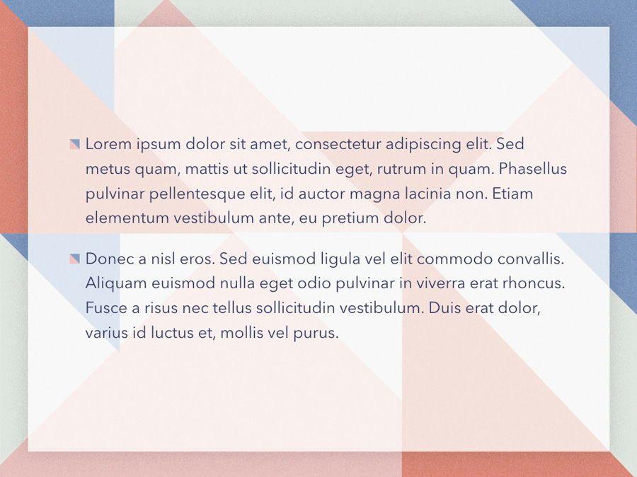 Color Patch Keynote Template, Slide 5, 05283, Presentation Templates — PoweredTemplate.com