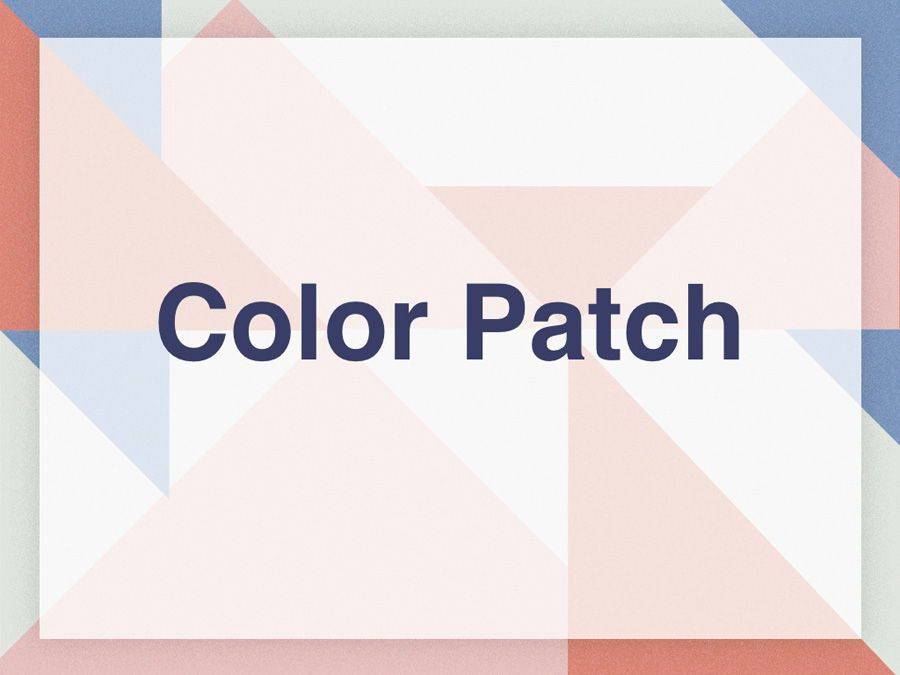 Color Patch Keynote Template, Slide 9, 05283, Presentation Templates — PoweredTemplate.com