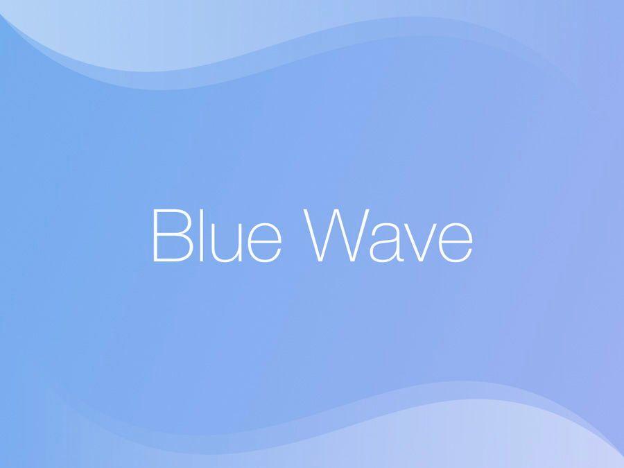 Blue Wave PowerPoint Template, Slide 10, 05286, Presentation Templates — PoweredTemplate.com