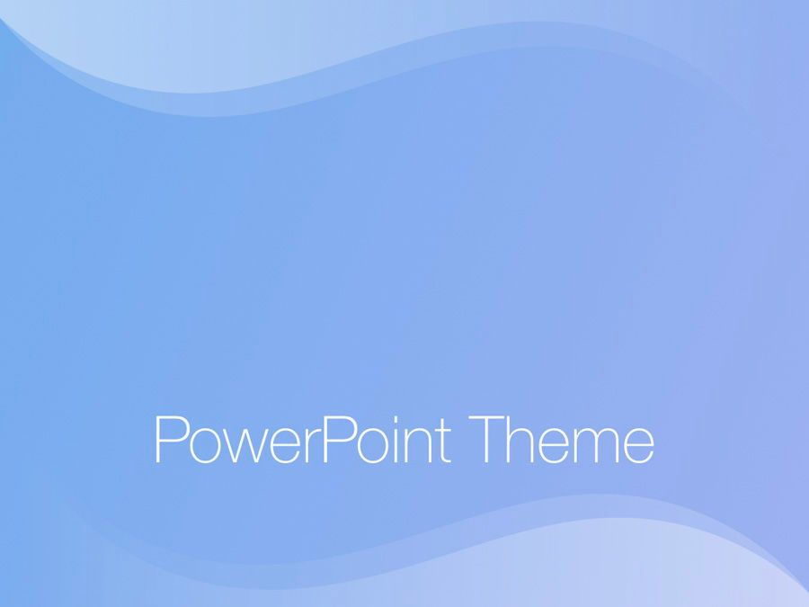 Blue Wave PowerPoint Template, Slide 11, 05286, Presentation Templates — PoweredTemplate.com