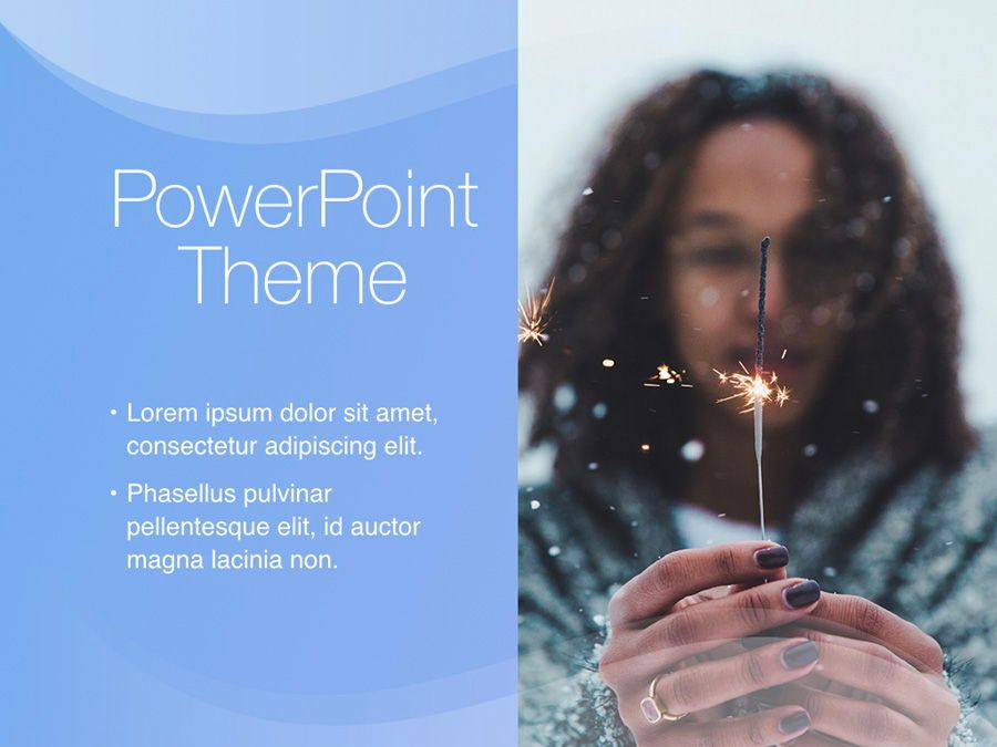 Blue Wave PowerPoint Template, Slide 17, 05286, Presentation Templates — PoweredTemplate.com
