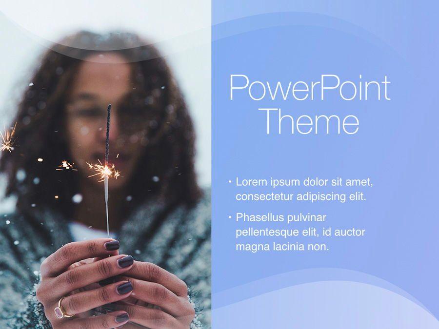 Blue Wave PowerPoint Template, Slide 18, 05286, Presentation Templates — PoweredTemplate.com