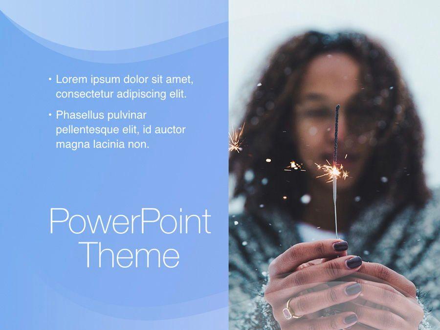 Blue Wave PowerPoint Template, Slide 19, 05286, Presentation Templates — PoweredTemplate.com