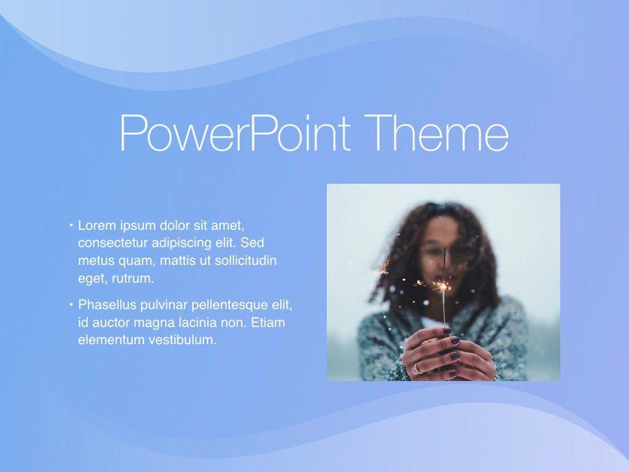 Blue Wave PowerPoint Template, Slide 30, 05286, Presentation Templates — PoweredTemplate.com