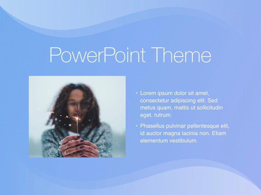Blue Wave PowerPoint Template, Slide 31, 05286, Presentation Templates — PoweredTemplate.com