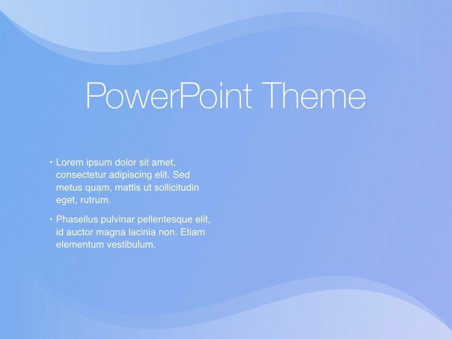 Blue Wave PowerPoint Template, Slide 32, 05286, Presentation Templates — PoweredTemplate.com