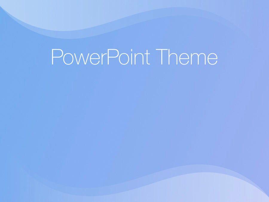 Blue Wave PowerPoint Template, Slide 9, 05286, Presentation Templates — PoweredTemplate.com