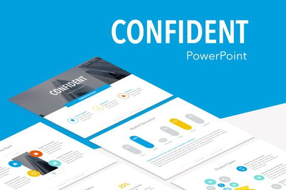 Infographics: Confident PowerPoint Template #05287
