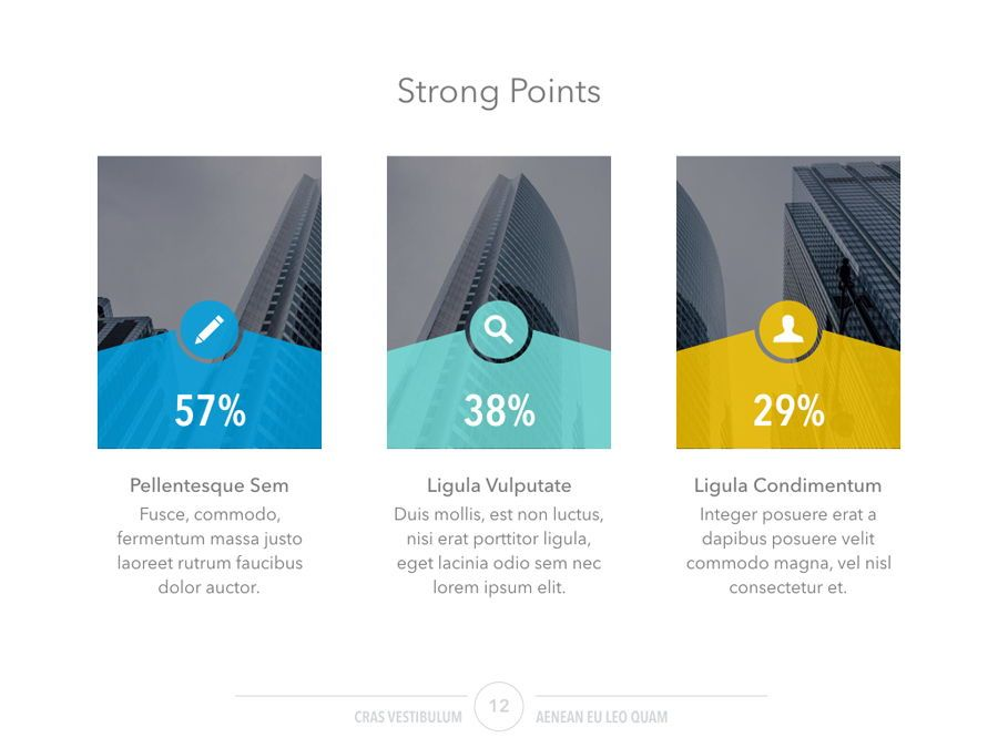 Confident PowerPoint Template, Slide 13, 05287, Infographics — PoweredTemplate.com