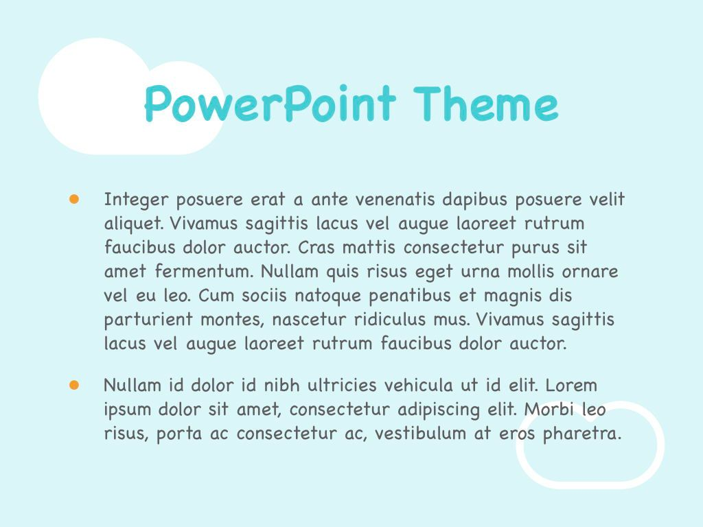Chalkboard PowerPoint Template, Slide 3, 05288, Education Charts and Diagrams — PoweredTemplate.com