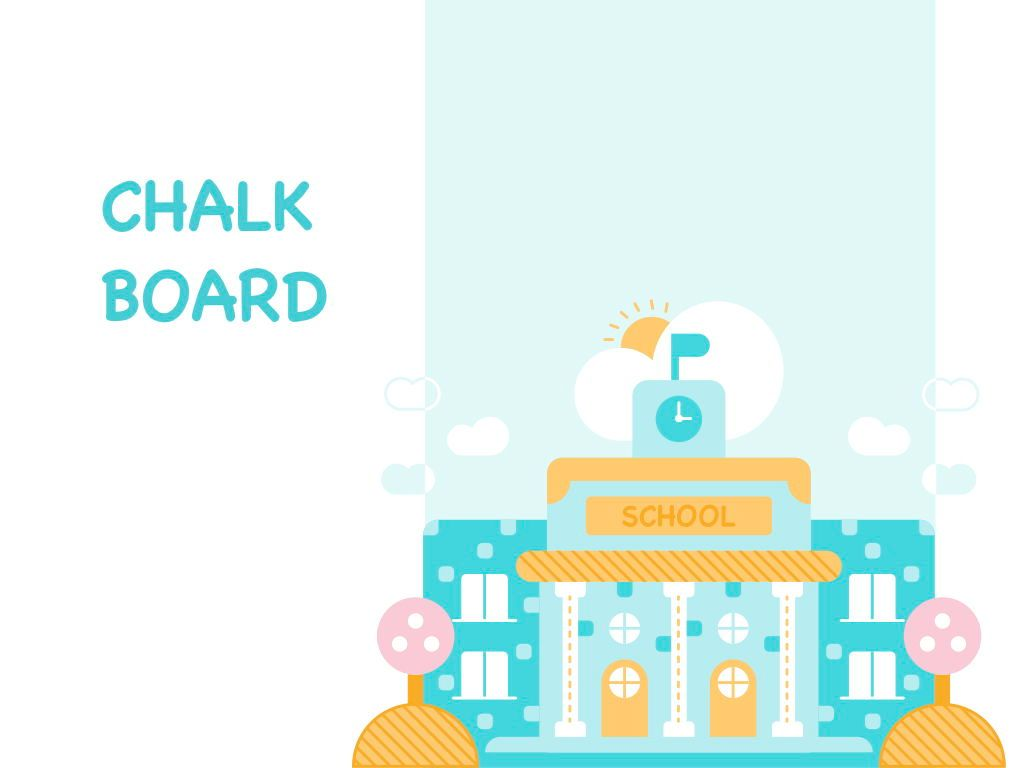 Chalkboard PowerPoint Template, Slide 9, 05288, Education Charts and Diagrams — PoweredTemplate.com