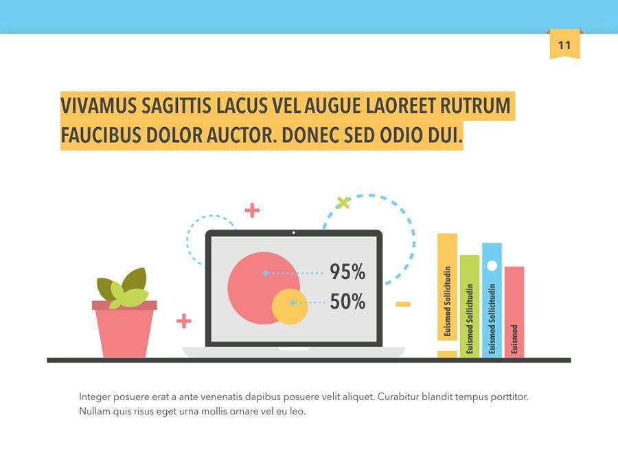 Color Display PowerPoint Template, Slide 12, 05289, Presentation Templates — PoweredTemplate.com