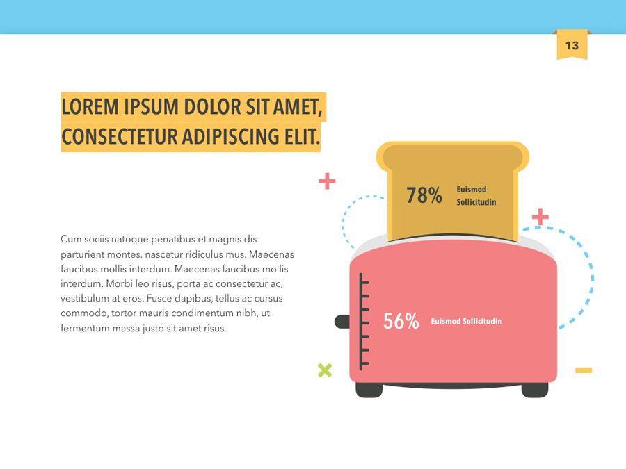 Color Display PowerPoint Template, Slide 14, 05289, Presentation Templates — PoweredTemplate.com