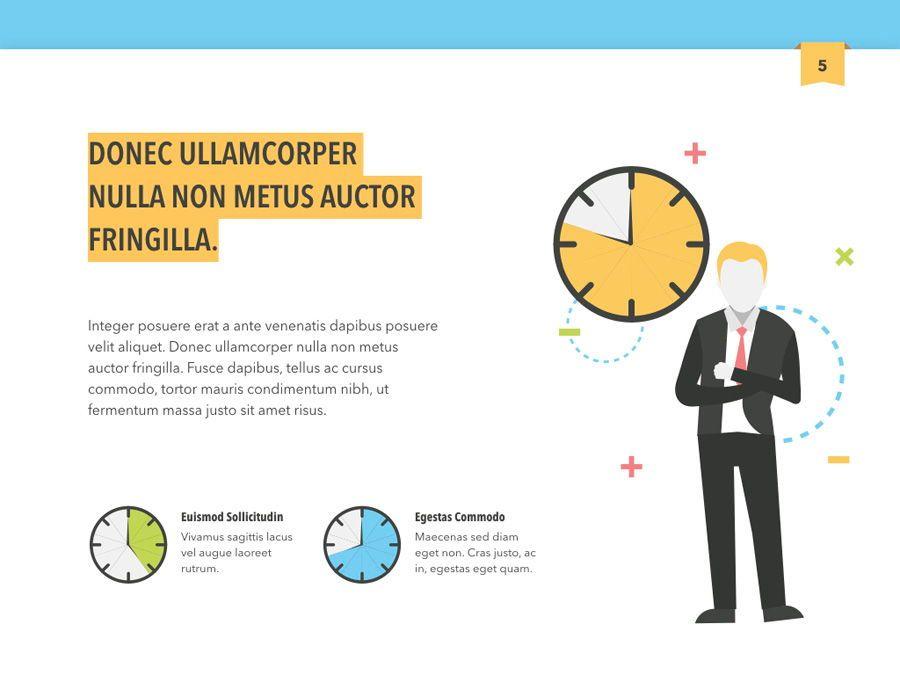 Color Display PowerPoint Template, Slide 6, 05289, Presentation Templates — PoweredTemplate.com