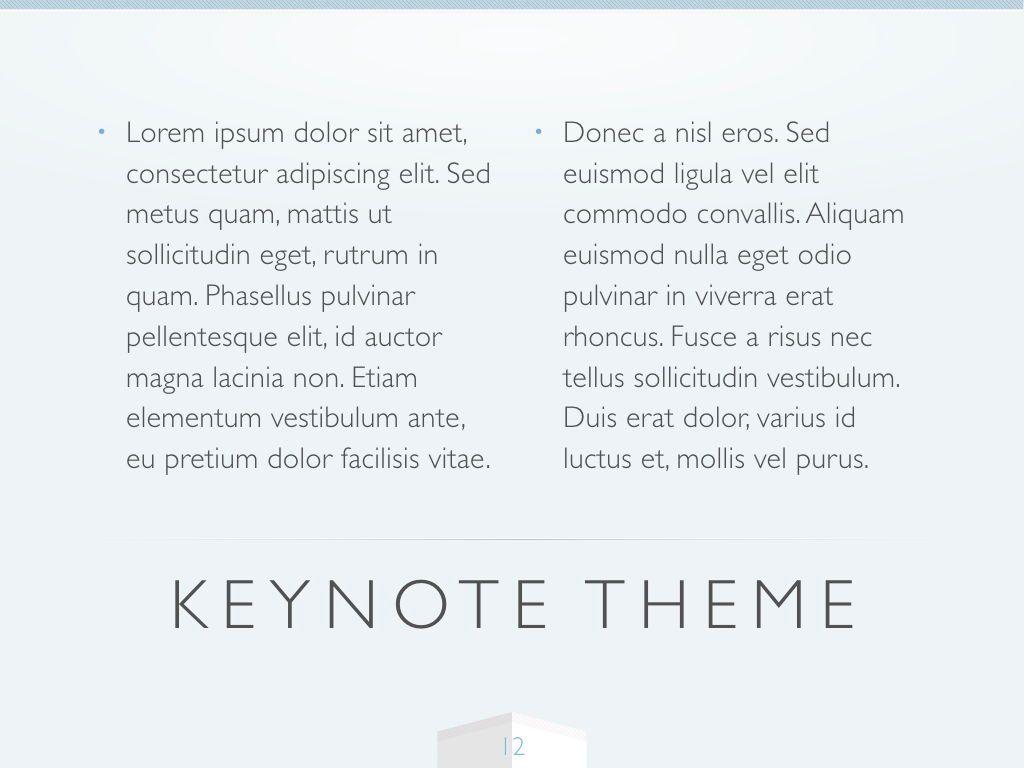 Cool Air Keynote Template, Slide 13, 05290, Presentation Templates — PoweredTemplate.com