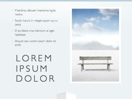 Cool Air Keynote Template, Slide 18, 05290, Presentation Templates — PoweredTemplate.com