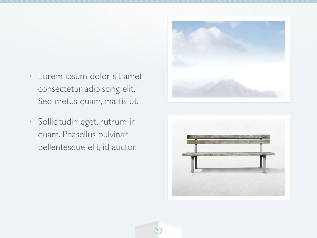 Cool Air Keynote Template, Slide 23, 05290, Presentation Templates — PoweredTemplate.com
