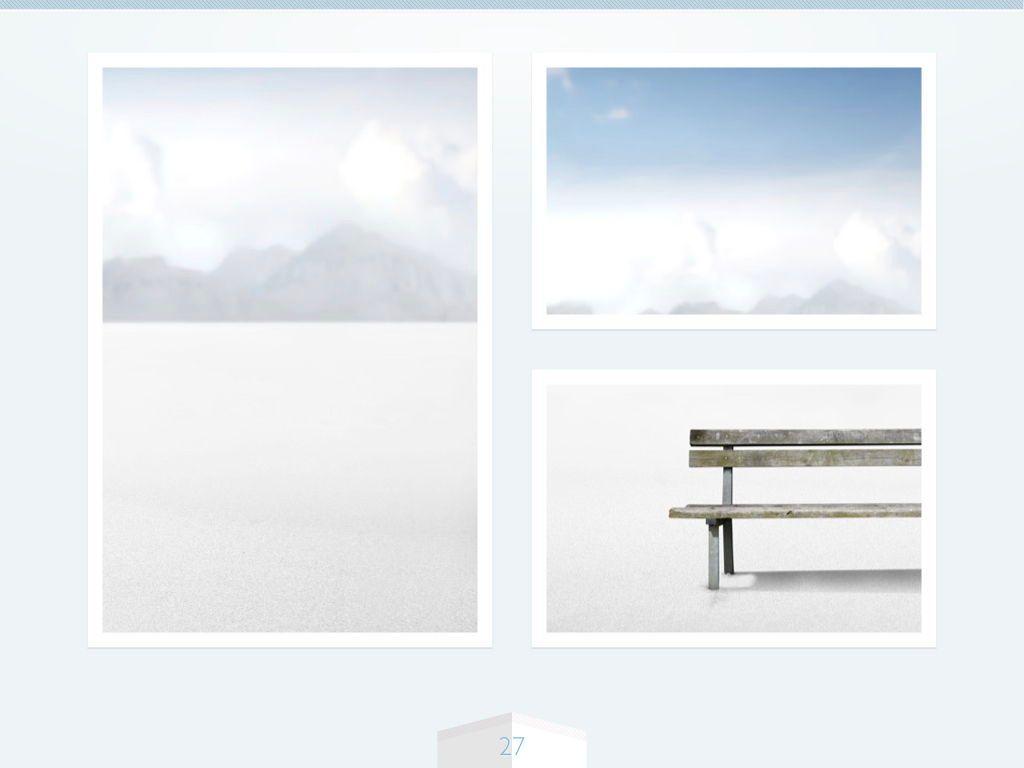 Cool Air Keynote Template, Slide 28, 05290, Presentation Templates — PoweredTemplate.com