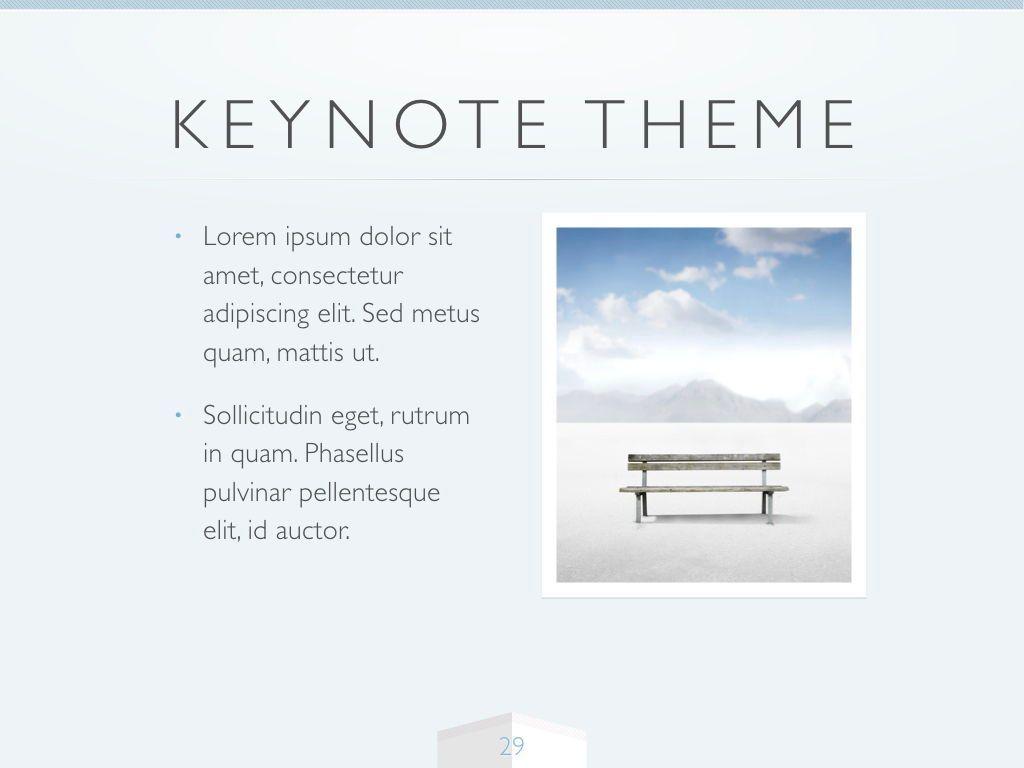 Cool Air Keynote Template, Slide 30, 05290, Presentation Templates — PoweredTemplate.com