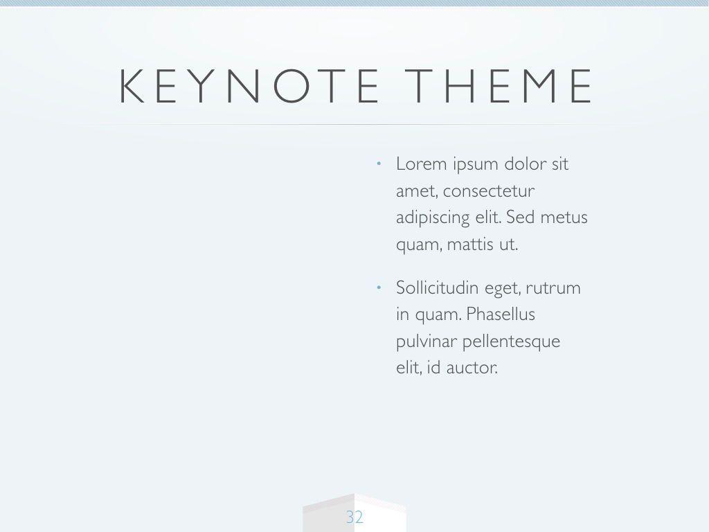 Cool Air Keynote Template, Slide 33, 05290, Presentation Templates — PoweredTemplate.com