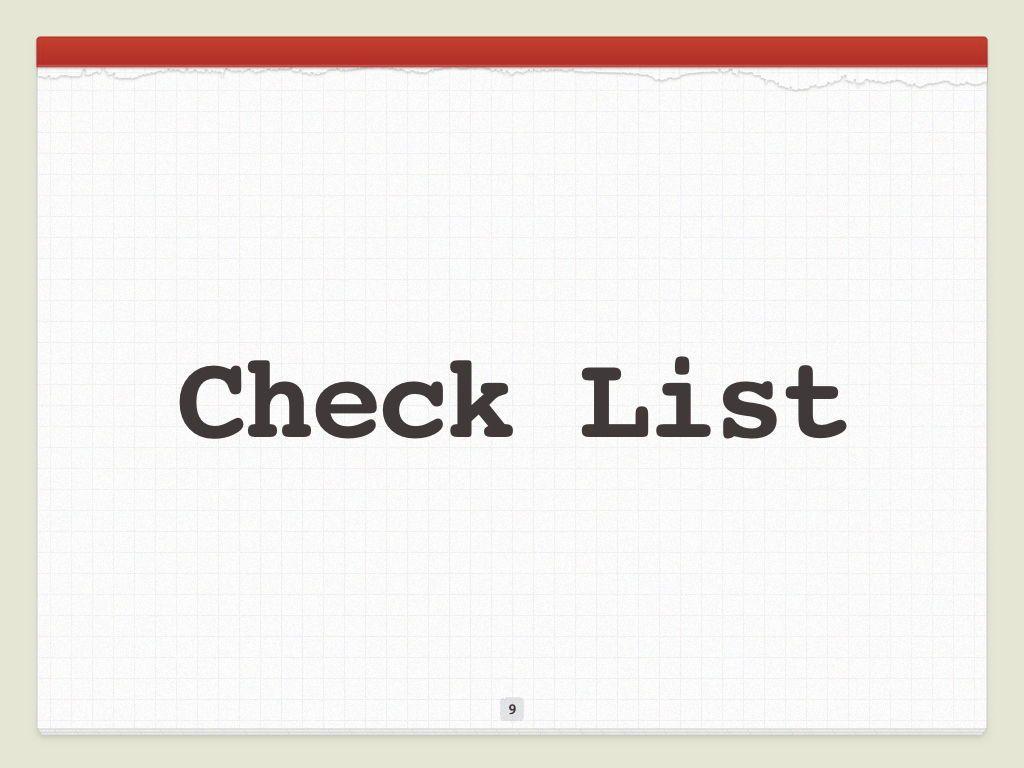 Check List Keynote Template, Slide 10, 05291, Presentation Templates — PoweredTemplate.com