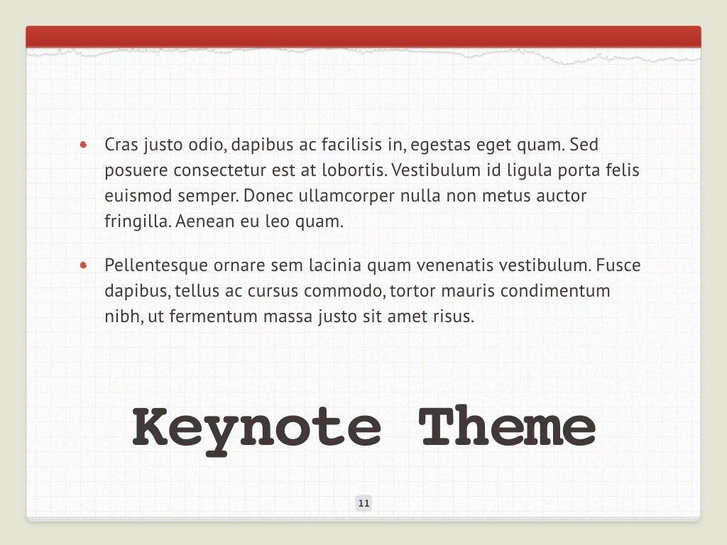 Check List Keynote Template, Slide 12, 05291, Presentation Templates — PoweredTemplate.com