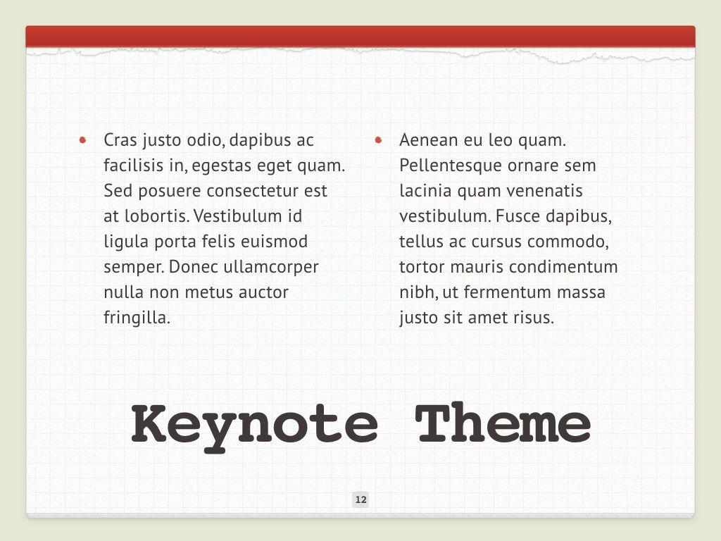 Check List Keynote Template, Slide 13, 05291, Presentation Templates — PoweredTemplate.com