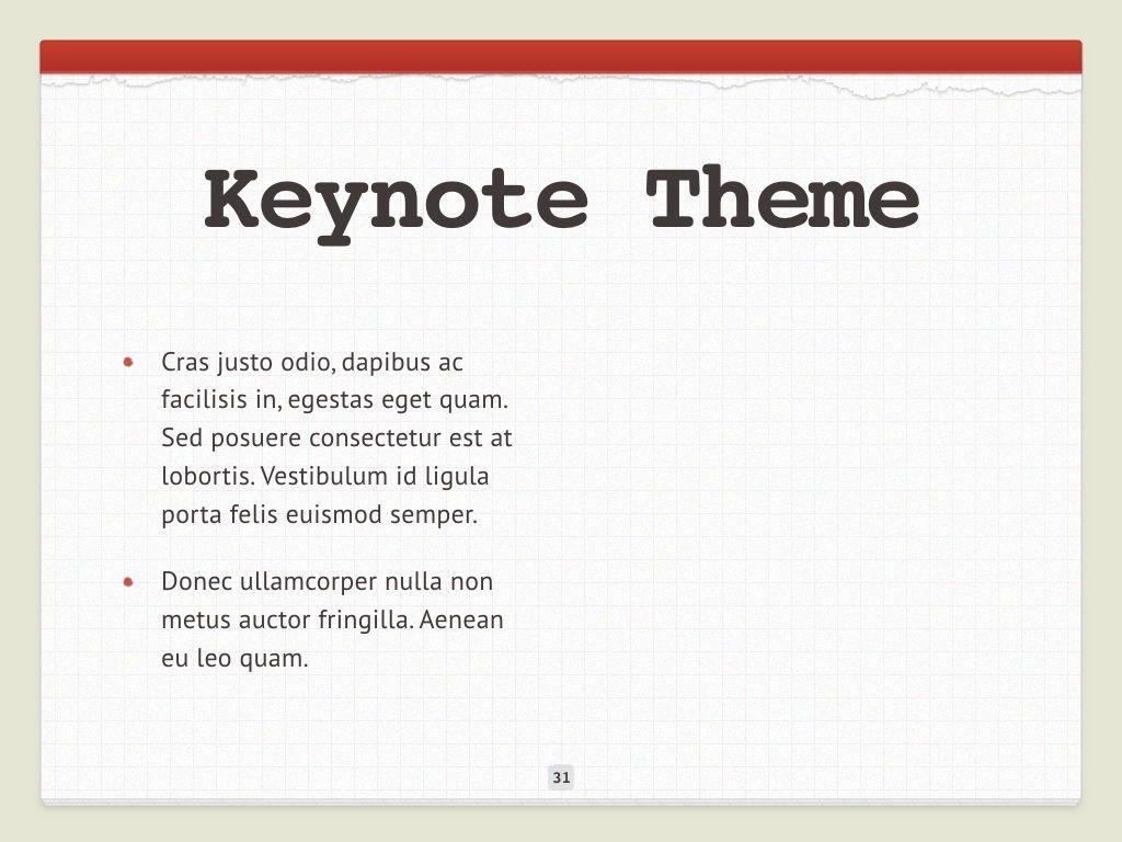 Check List Keynote Template, Slide 32, 05291, Presentation Templates — PoweredTemplate.com