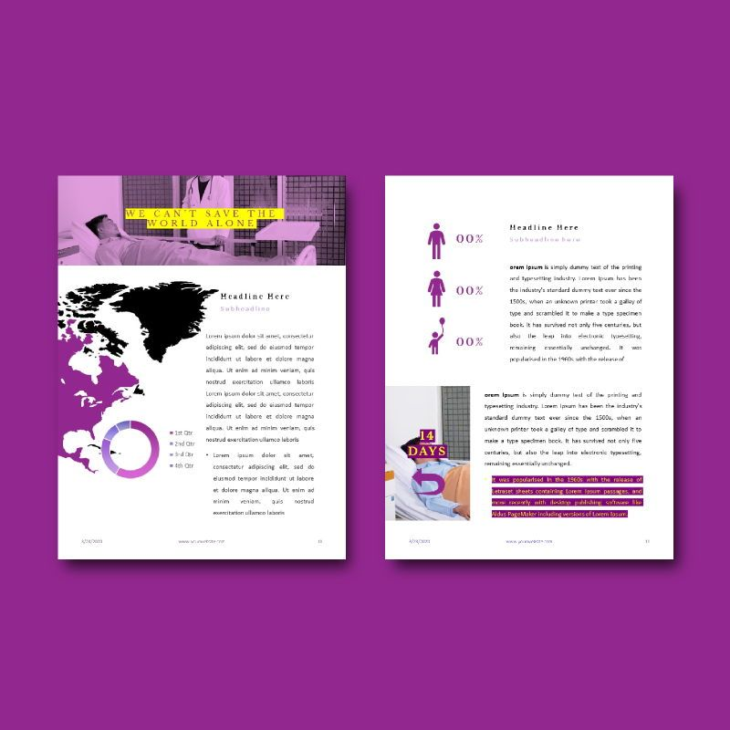 Prevention of coronavirus disease ebook template powerpoint presentation, Slide 6, 05292, Presentation Templates — PoweredTemplate.com