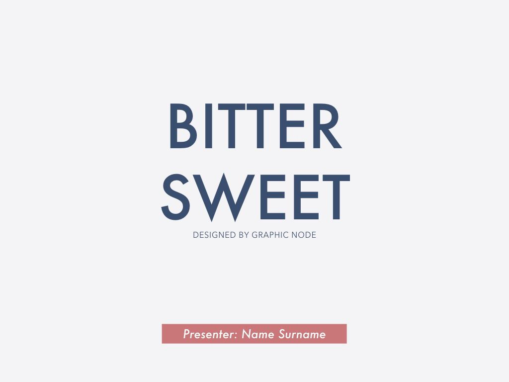 Bitter Sweet Keynote Presentation Template, Slide 12, 05295, Presentation Templates — PoweredTemplate.com