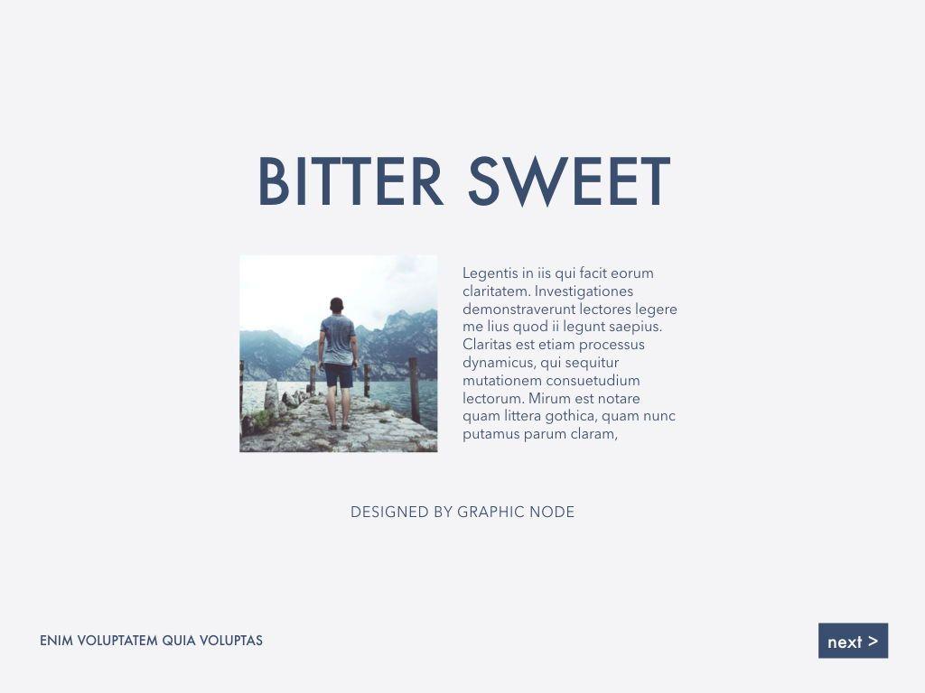 Bitter Sweet Keynote Presentation Template, Slide 15, 05295, Presentation Templates — PoweredTemplate.com