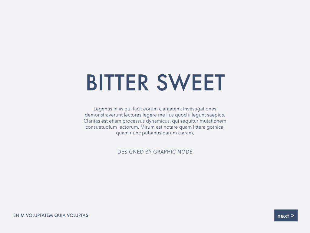 Bitter Sweet Keynote Presentation Template, Slide 4, 05295, Presentation Templates — PoweredTemplate.com