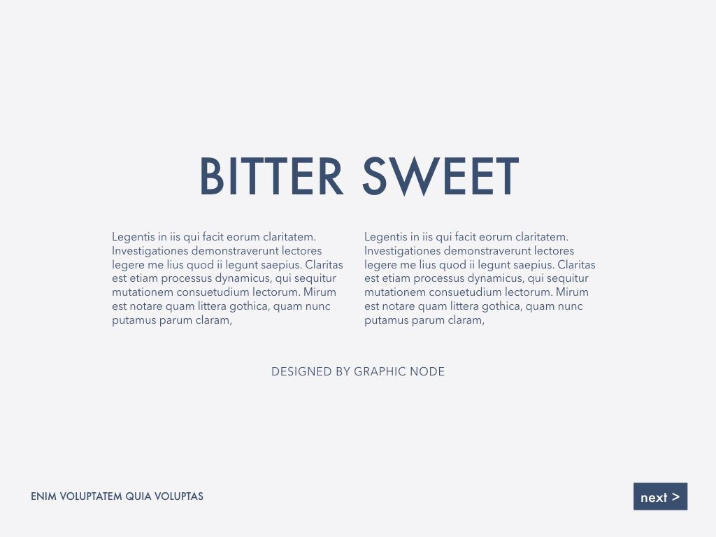 Bitter Sweet Keynote Presentation Template, Slide 5, 05295, Presentation Templates — PoweredTemplate.com