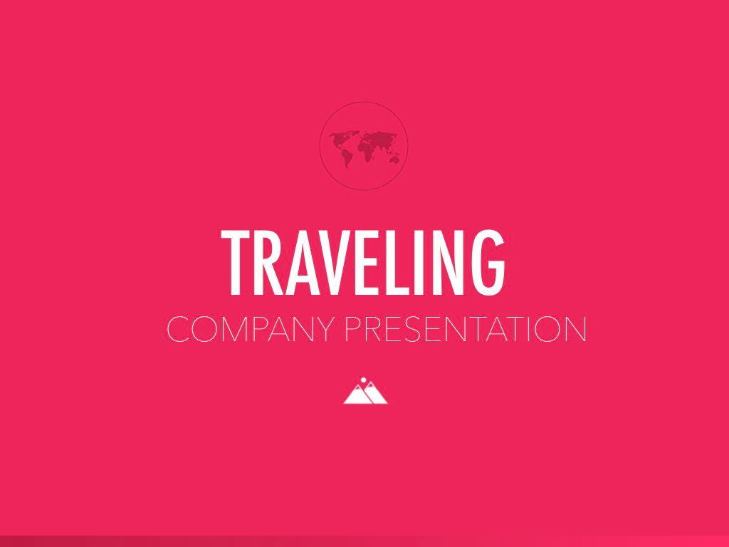Crimson Travel Keynote Presentation Template, Slide 12, 05296, Presentation Templates — PoweredTemplate.com
