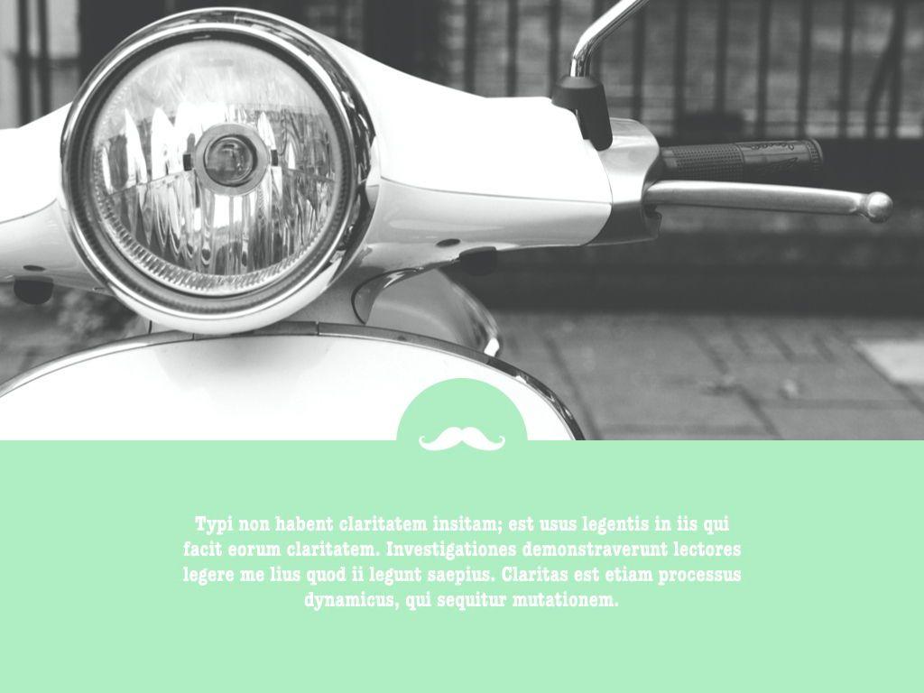 Moto Mint Keynote Presentation Template, Slide 10, 05298, Presentation Templates — PoweredTemplate.com