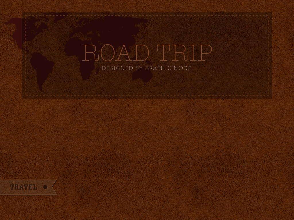 Road Trip Keynote Presentation Template, Slide 20, 05300, Presentation Templates — PoweredTemplate.com