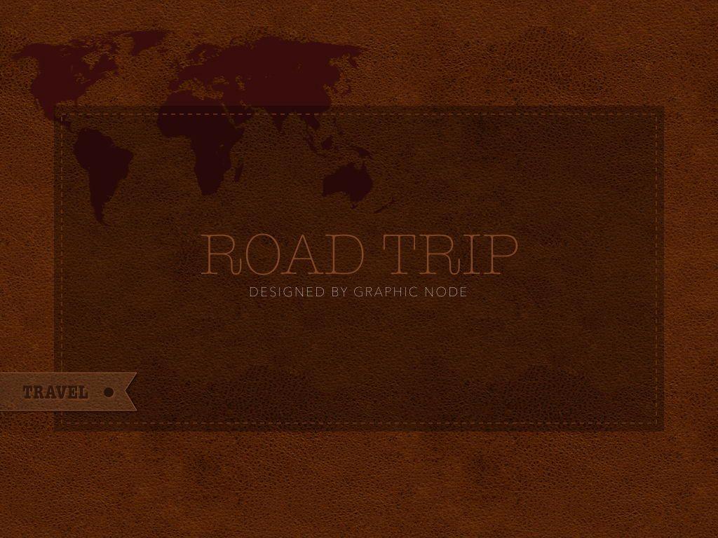 Road Trip Keynote Presentation Template, Slide 21, 05300, Presentation Templates — PoweredTemplate.com