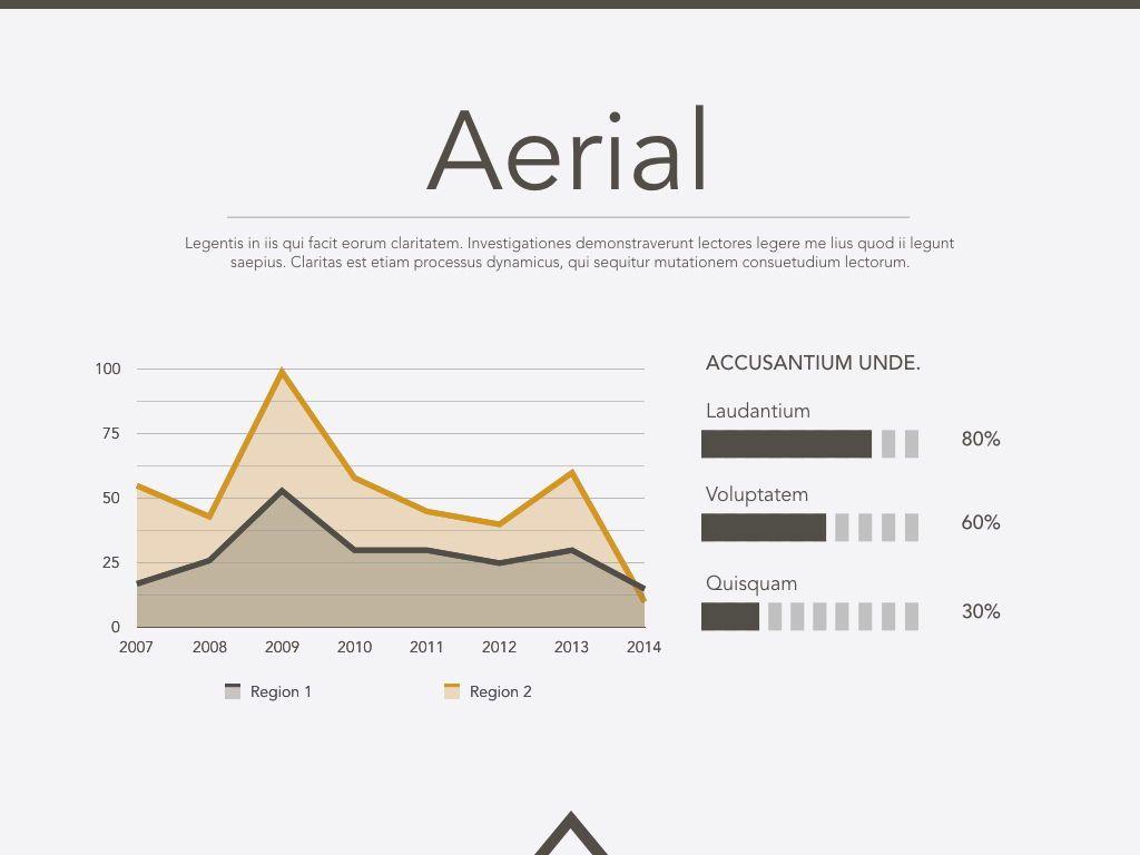 Aerial Keynote Presentation Template, Slide 11, 05302, Presentation Templates — PoweredTemplate.com