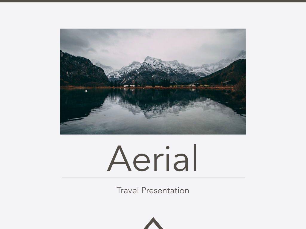 Aerial Keynote Presentation Template, Slide 12, 05302, Presentation Templates — PoweredTemplate.com