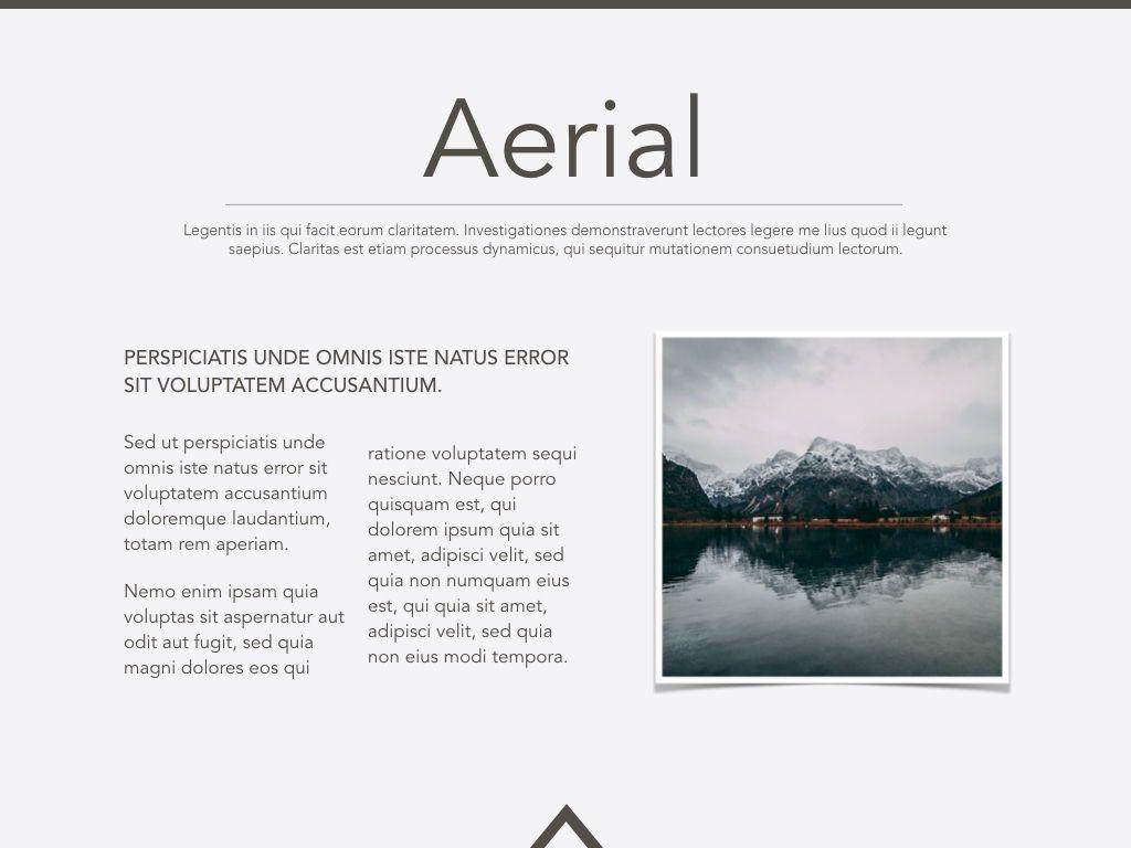 Aerial Keynote Presentation Template, Slide 17, 05302, Presentation Templates — PoweredTemplate.com