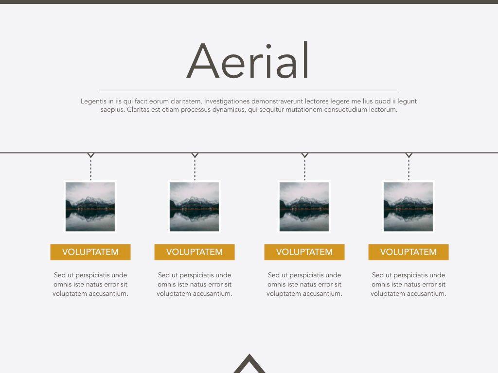 Aerial Keynote Presentation Template, Slide 18, 05302, Presentation Templates — PoweredTemplate.com