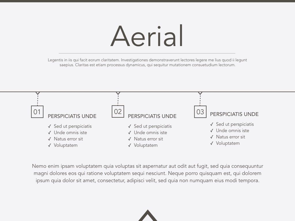 Aerial Keynote Presentation Template, Slide 2, 05302, Presentation Templates — PoweredTemplate.com