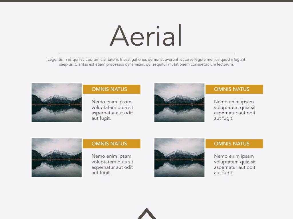 Aerial Keynote Presentation Template, Slide 20, 05302, Presentation Templates — PoweredTemplate.com